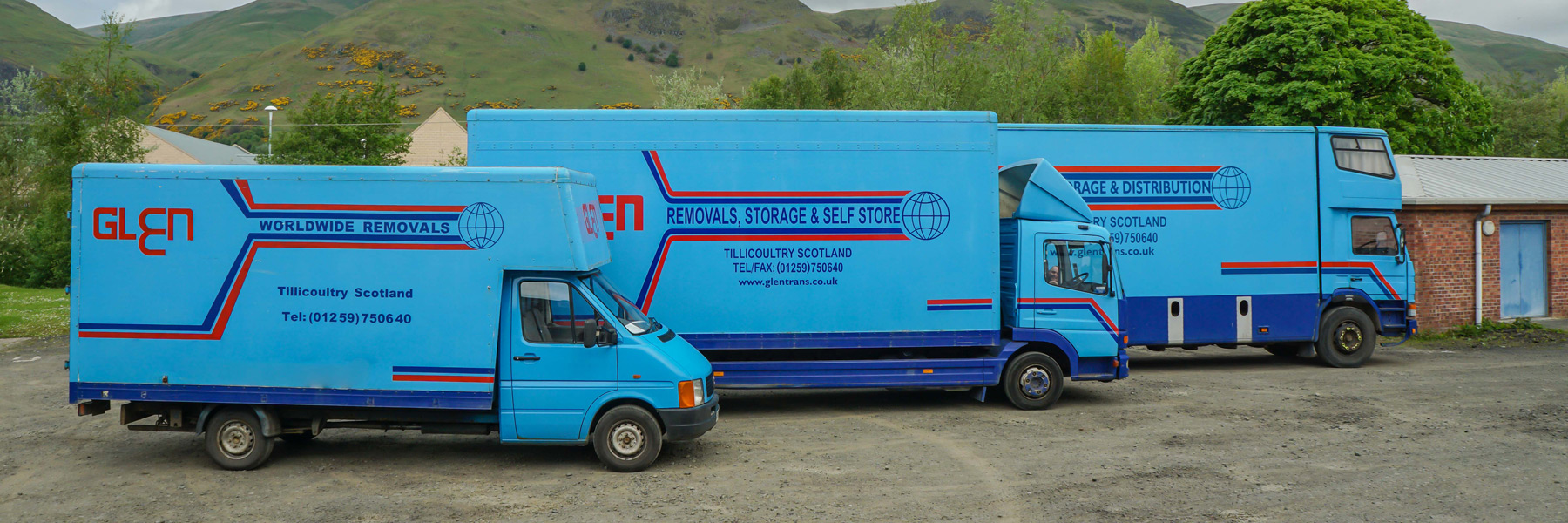 storage and removals stirling